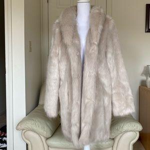 Chic Faux Fur Coat